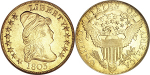 Capped Bust Eagle $10 Gold Coin Values