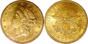 Liberty Head No Motto Double Eagle $20 Gold Coin Values