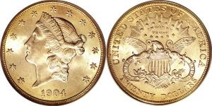 Liberty Head Motto Double Eagle $20 Gold Coin Values