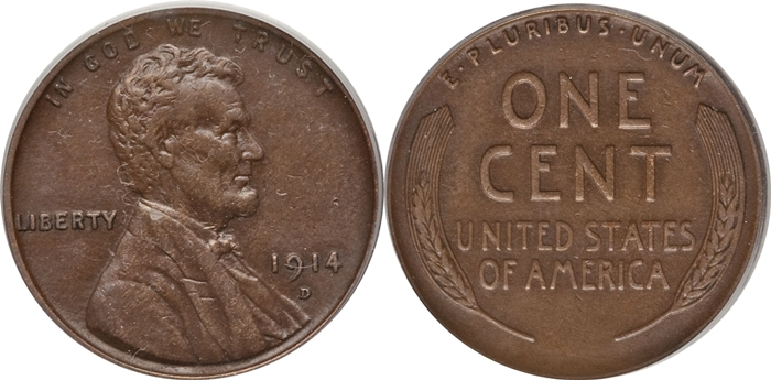 EF45 Lincoln Cent Grading