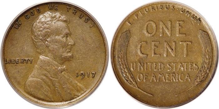 AU50 Lincoln Cent Grading