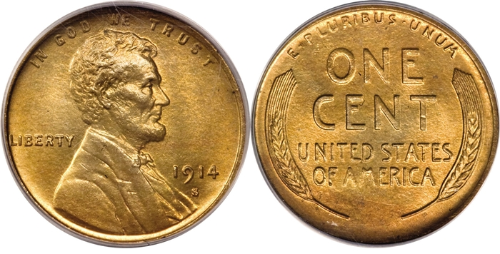 MS66 Lincoln Cent Grading