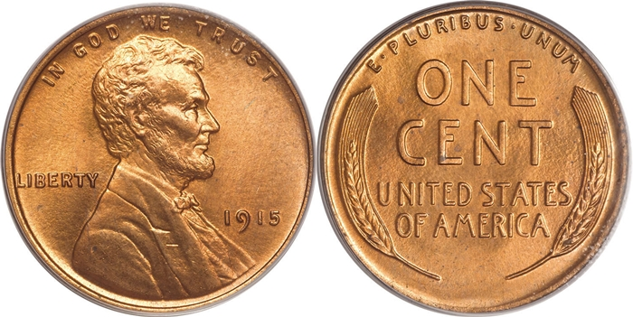 MS67 Lincoln Cent Grading