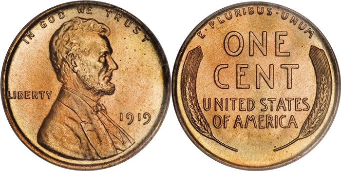 MS68 Lincoln Cent Grading