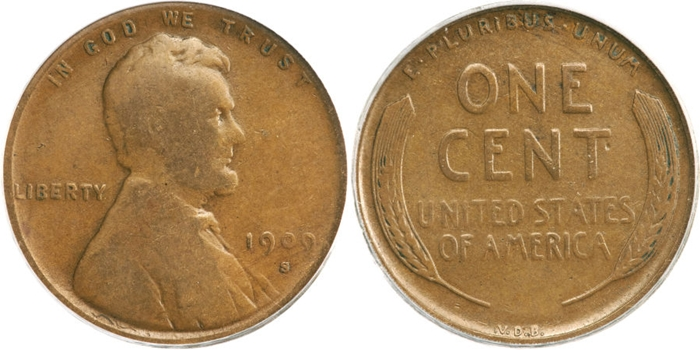 VG10 Lincoln Cent Grading