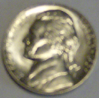 Jefferson nickel picture